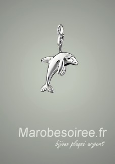 dauphin charms pendentif réf 15