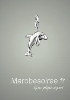 dauphin charms pendentif réf 15