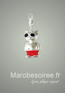 ours charms pendentif réf 18