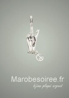symbole victoire charms pendentif réf 17