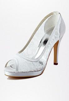 Chaussures de mariée ouvert à l'avance Réf CMZ376