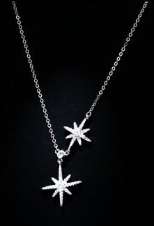 Chaine collier étoiles vénus réf CD243