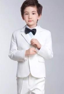 Hugo - Costume enfant blanc cassé 5 pièces - réf 219