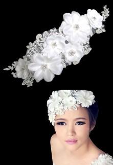 Magnifique décoration coiffure mariage réf. F0701