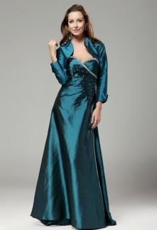 Irs - robe de mère de mariée avec boléro sur mesure