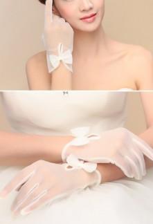 gants de mariage simple et élégant éf S68
