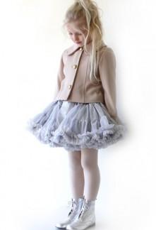 Jupe froufrou fille princesse pailletée réf: QE02