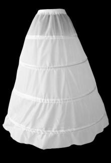 jupon pour robes de mariée ample évasée