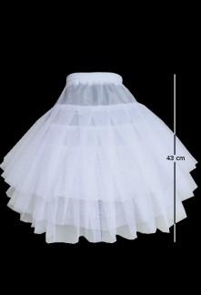Jupon en tulle pour robes courte style vintage réf.w13