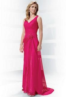Barbara - robe de soirée cérémonie robe de mariage sur mesure 6028