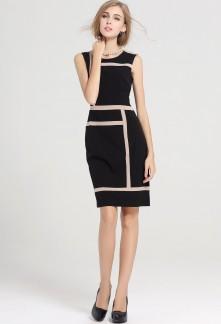 """Petite robe noire coupe droite - """"must have""""  réf YY7608"""