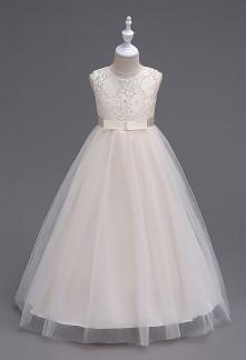 Robe longue pour petite princesse réf: EF999