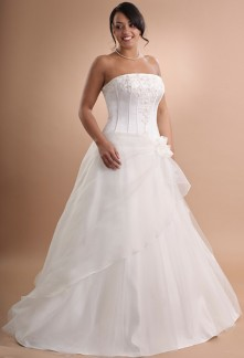 robe de mariée robe de mariage évasée 601