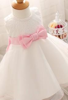88f6dcdacec51 Robe pour bébé princesse en perles réf  EFA302