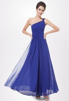 Assortir robe bleu roi