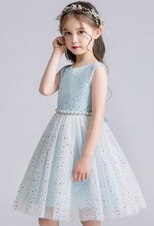 robe courte cérémonie pour enfant au mariage