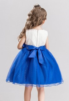 Robe bleu royal bebe