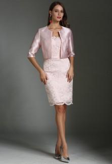 c58d87188d6 Robes de soirée cocktail de couleur rose