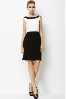 Robe working girl coupe droite réf YY7614
