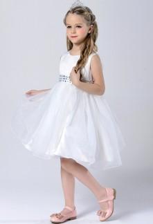 Robe de soirée pour petite fille au mariage