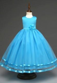 Robe bleu electrique bebe
