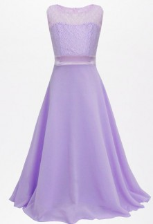 Robe de soirée enfant fille fluide réf: EF932