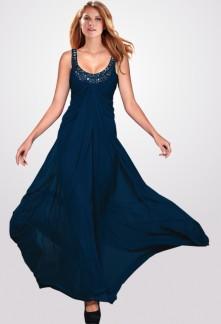 Lina - robe de bal longue taille empire