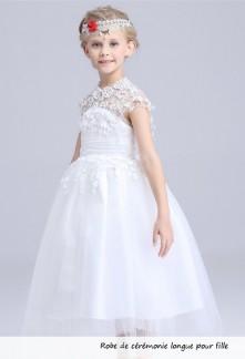 Robe de soirée pour fille au mariage