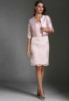 53606a1bfb0f Robes de soirée cocktail de couleur rose