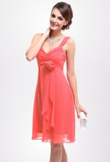 Robe chic corail