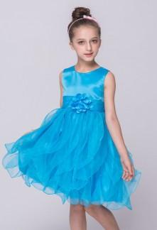 Robe de cortège enfant - bleu