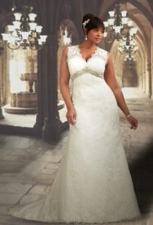 robe de mariée dentelle dos nus