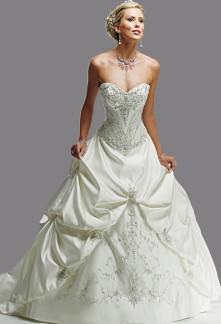 robe de mariée classique princesse