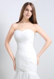 Robe de mariée sans strass
