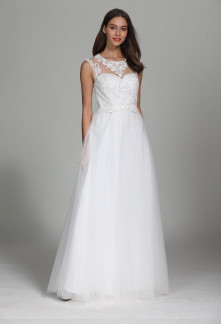 robe de mariée chic style princesse