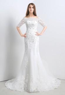 Robe de mariée dentelle réf SQ107