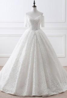 Robe de mariée style princesse danseuse