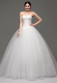 Robe de mariée cendrillon bustier coeur réf SQ241 - sur demande