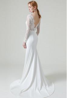 Robe de mariée sirène manches longues Réf M2142 - Sur demande