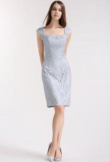 6dc619d4316 Elégante robe fourreau fine et souple Réf 1611