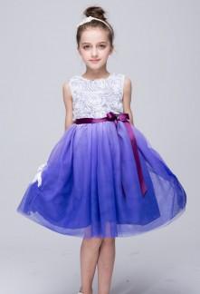 Robe de soirée fille couleur dégradée réf EF28