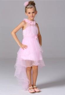 Robe de soirée pour fille asymétrique réf EFL54