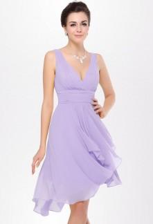 robe demoiselle d 39 honneur sur mesure ou catalogue On robe lilas pour invité de mariage