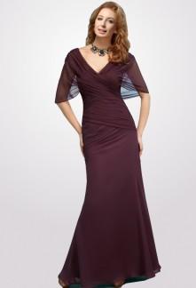 robe de cérémonie longue drapée