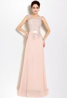 great blog robe robe de soiree rose poudre. Black Bedroom Furniture Sets. Home Design Ideas