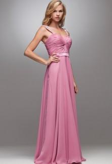 1c6c257caaf8 jacqueline -robe de soirée rose longue bustier effet cache coeur - sur  demande 4028