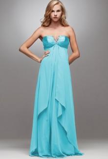 Iwalani -  robe de soiree longue col V 4021