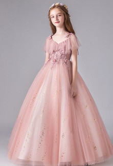 Robe de soirée enfant princesse
