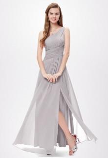 Robe de mari e asym trique une tenue originale et moderne for Robe formelle grise pour mariage