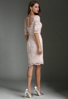 e00904f0a8c Elégante robe de soirée style fourreau aux manches courtes ...